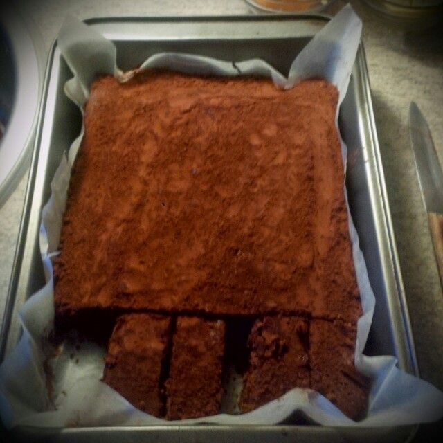 Domácí brownies!