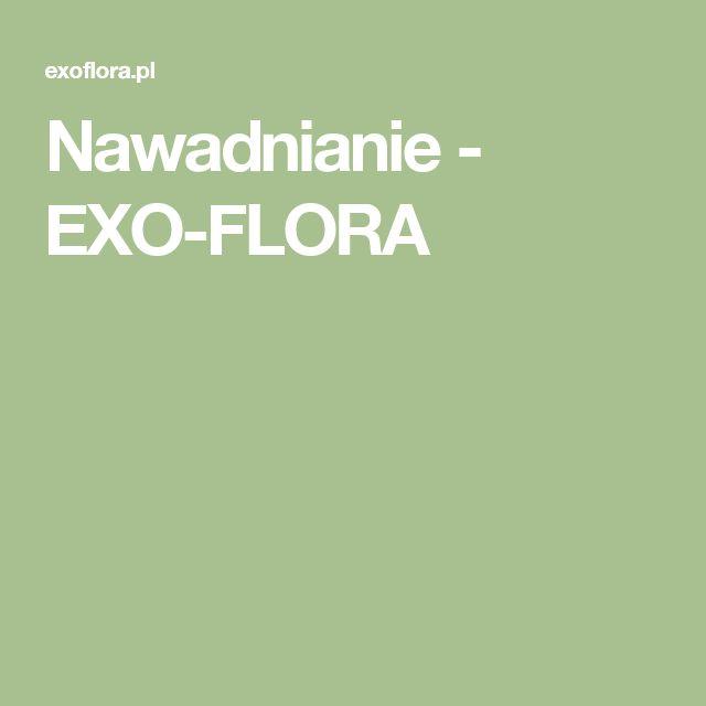 Nawadnianie - EXO-FLORA
