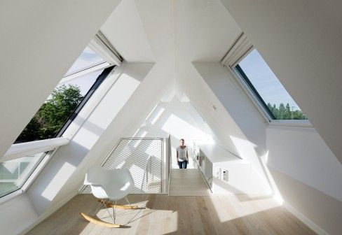 Roof idea with windows/ skylights