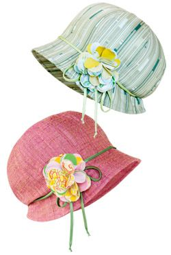 Boho Cloche Hat - mini pattern Oh I am sooooooo going to make this!