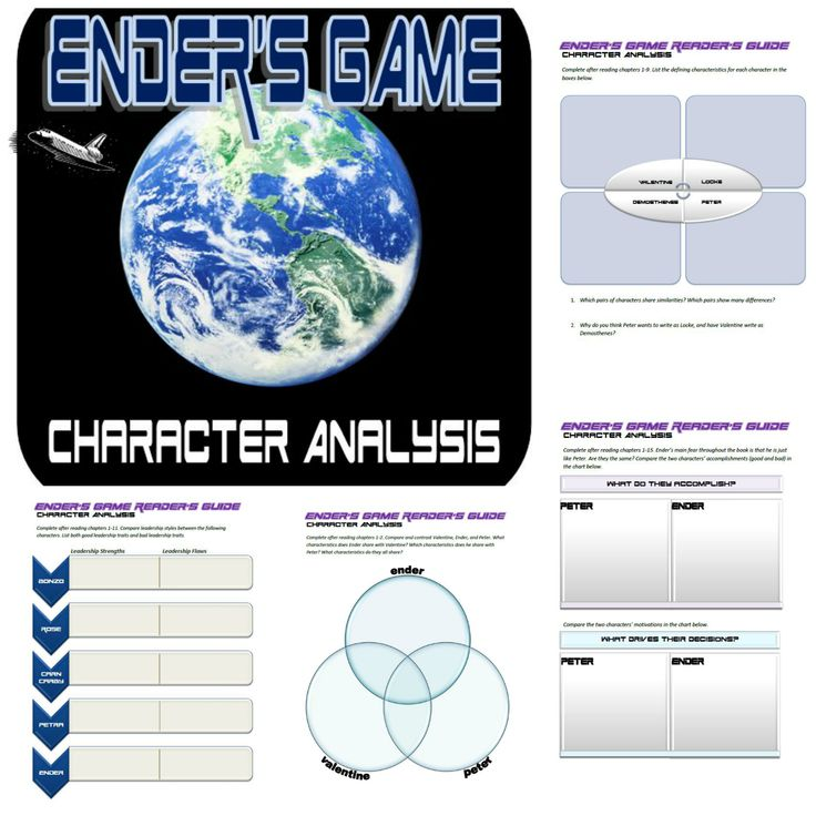 an analysis of the main protagonist of enders game by andrew wiggin Enders game all and all by:  ender wiggin is the main character in ender's  (3hr) game system analysis (3hr) the game main loop (3hr) 3d game engine.