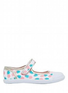 Childrens Shoes Boys Shoes Girls Shoes | Pineapple Print Mary Jane | Seed Heritage