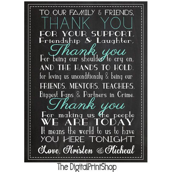 Best 25+ Wedding Thank You Wording Ideas On Pinterest