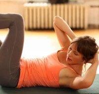 Exercices pour abdominaux, méthode Pilates
