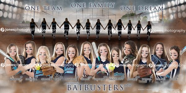 Batbusters 10u_ Softball_Banner_Jones Photography__Team_Sports_Picture_Composite_Poster_Baseball_Hardball