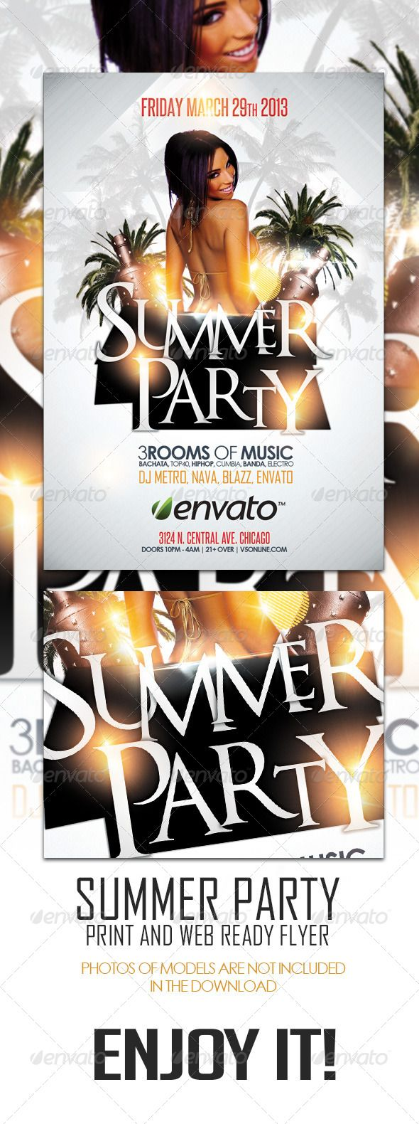 Summer Party Flyer - GraphicRiver Item for Sale http://www.expertapplication.com/