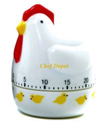 Chicken Timers @ chef depot .com  search TIMERS !  CHEF DEPOT is a trademark.