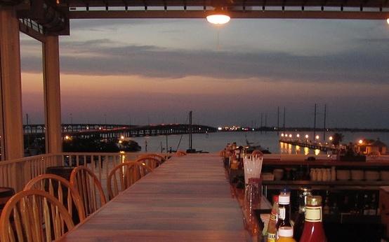 View from Laishley Crab House, Punta Gorda, Florida