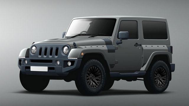 Genève 2016 : Jeep Wrangler Black Hawk Kahn Design