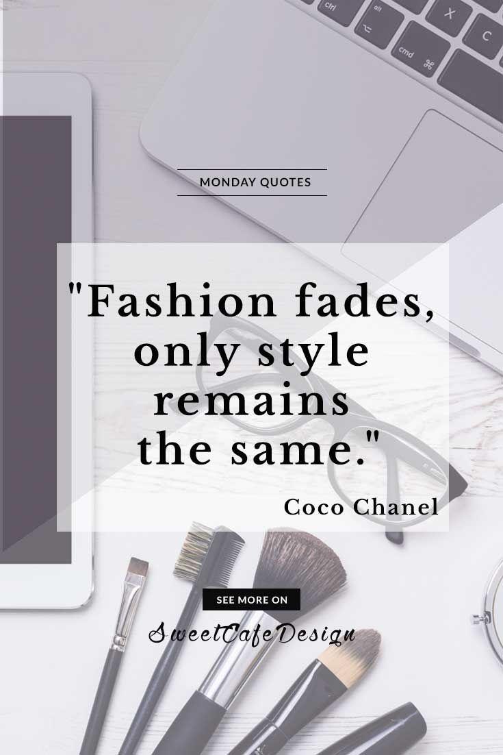 Monday quotes: Coco Chanel