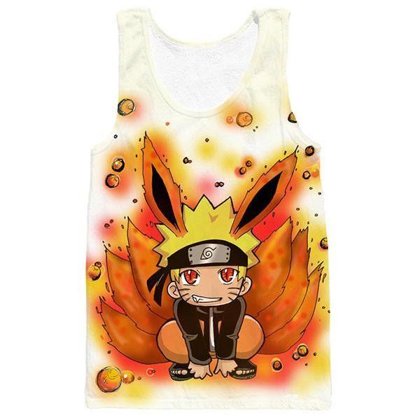Naruto and Kurama Tank Top