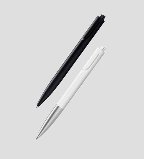 Products we like / Bal Pen / Pen / White / Black / Minimal / Clip / at converge-diverge: Lamy - Noto by Naoto Fukasawa