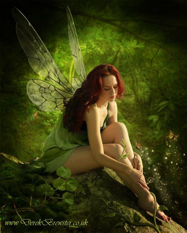 Fairy in Green by Pygar.deviantart.com on @deviantART