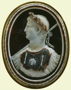 Cameo of the Emperor Claudius    43-5 AD    Roman    Possibly acquired by Henry, Prince of Wales (d.1612); collection of Charles I, when Prince of Wales