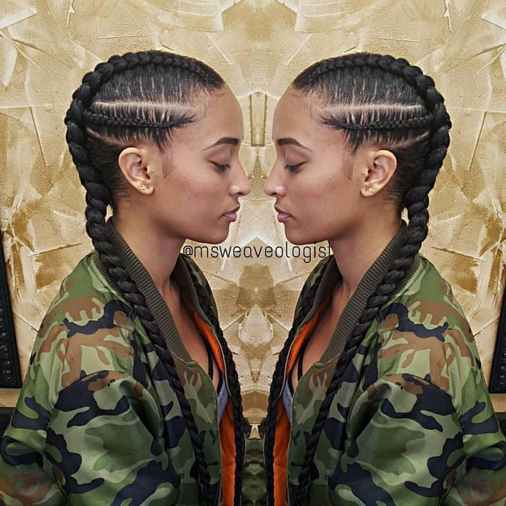 "Protective Natural Hair Styles on Instagram: ""By @msweaveologist Blessed this sweetheart @callherhelen #cornrows #boxbraids #msweaveologist"""