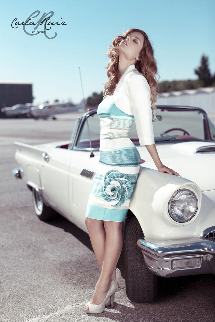 Vestido de Cocktail de Carla Ruiz 2012 - Modelo 86356
