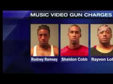 """Rico Recklezz On """"Channel 9 News"""" Pulls Gun Out In High school ( Before The Fame ) - YouTube"""