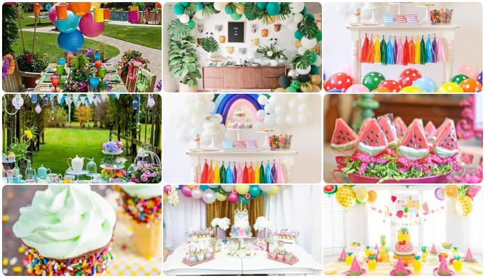 Unique Birthday Party Ideas For 1 Year Old Babies In Summer 1st Decoration