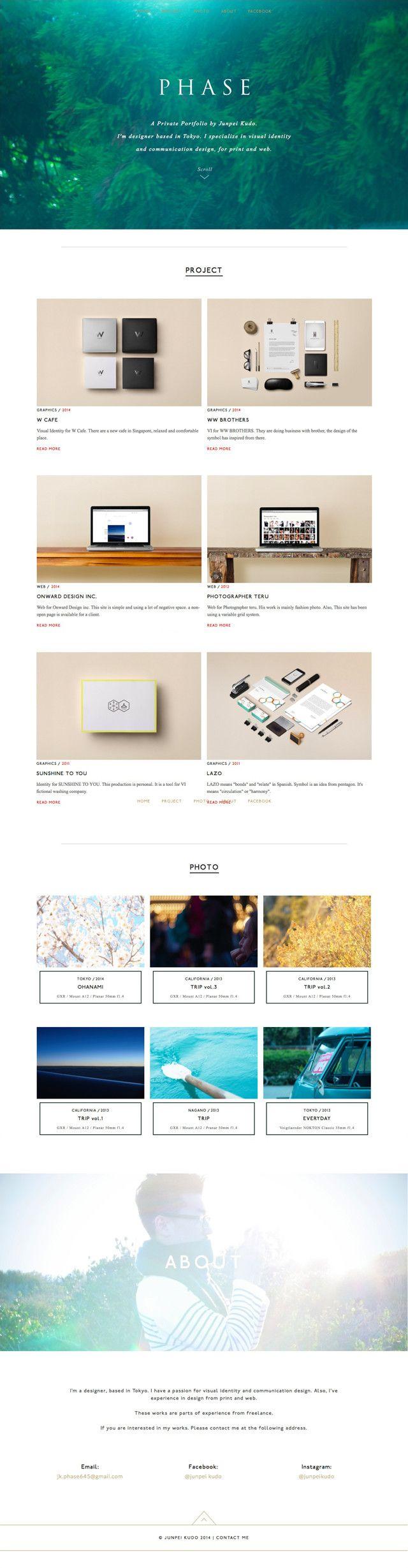 Portfolio site - kudo