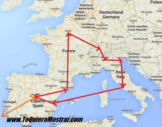 25 best Mapa europa ideas on Pinterest  Viajes a europa mapa de