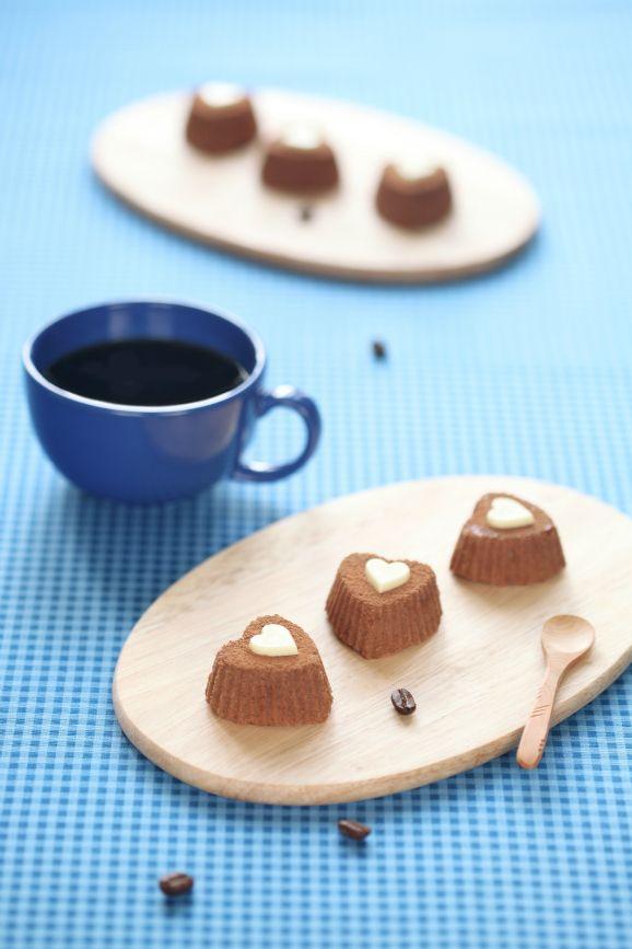 Verdade de sabor: Coffee mini-cakes / Docinhos de café