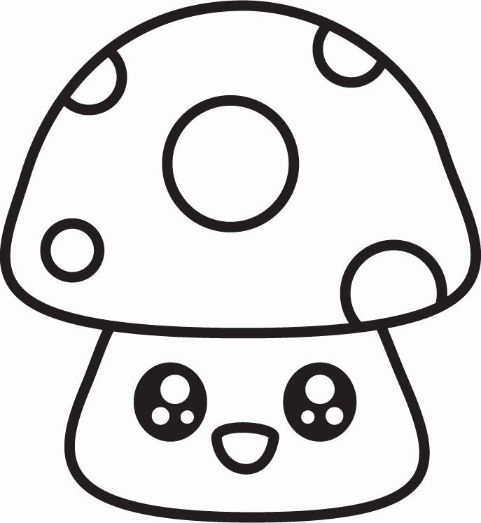 Cute Animal Coloring Page Inspirational 49 Best Super Cute Animal Coloring Pages Images On Pinterest Coloriage Emoji Champignon Dessin Dessins Faciles Mignons