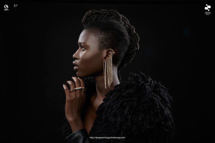 African model beauty