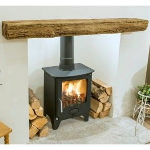 Newman Fireplace Bideford Oak Effect Stone Beam
