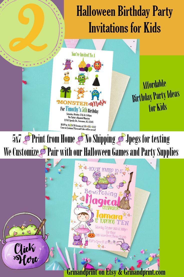 This Is Our Monster Mash And Girls Halloween Birthday Party Invitations If Yo Birthday Halloween Party Halloween Birthday Party Invitations Halloween Birthday