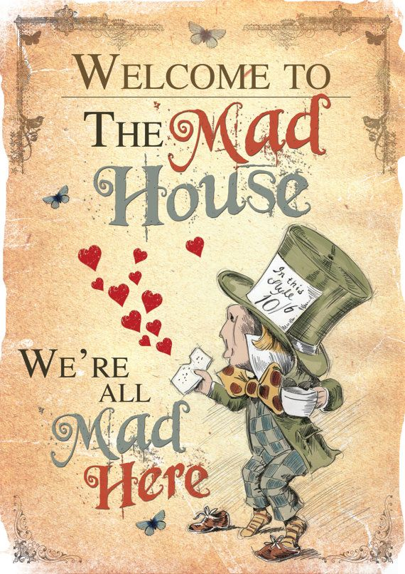 Alice in Wonderland Printable A4 Poster Art by GiraffeandCustard