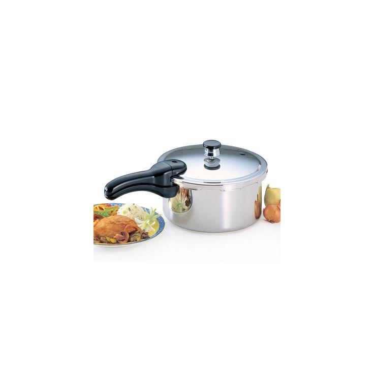 Presto 4-qt. Stainless Steel Pressure Cooker