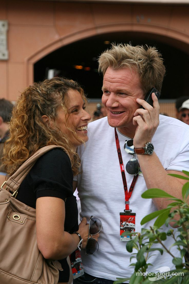 Gordon Ramsay, Famous Chef with his wife Tana