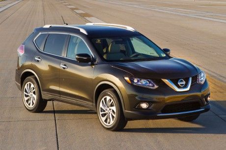 "2014 Nissan Rogue, the twin ""brother"" of All-New Nissan X-Trail."