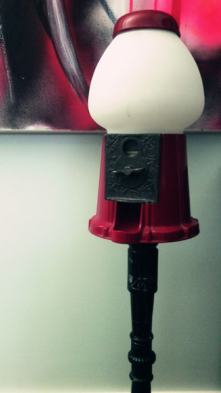Gumball machine lamp