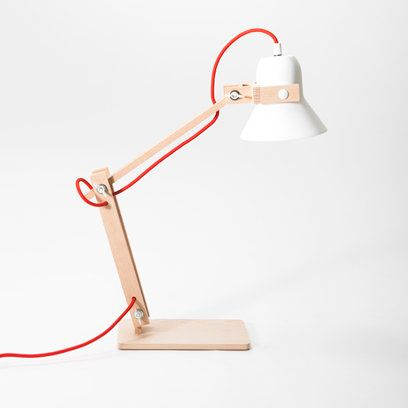 Wooden lamp from Folklore - Pinned by Idea Concept Design.nl
