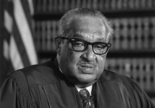 a biography pf thurgood marshall the first african american supreme court justice Thurgood marshall, the great-grandson of slaves, was the first african american justice appointed to the united states supreme court, where he served from 1967 to 1991 earlier in his career, marshall was a pioneering civil rights attorney who successfully argued.