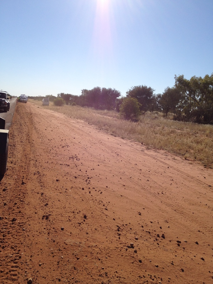 red dirt roads for miles and miles