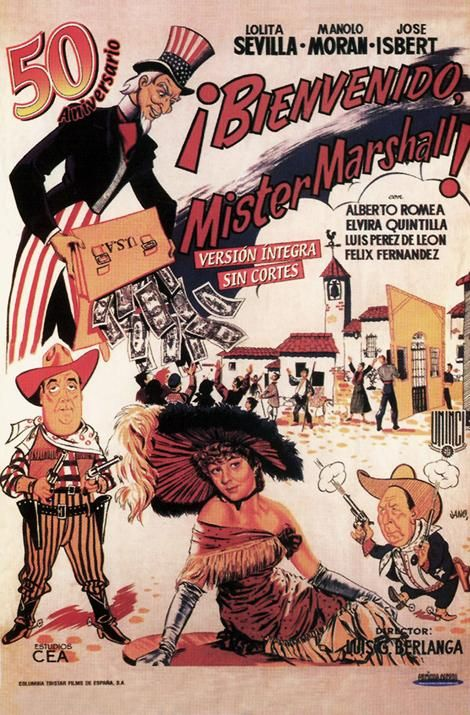 Bienvenido, Mister Marshall (Welcome, Mister Marshall) : Posters : Archive : Berlanga Film Museum