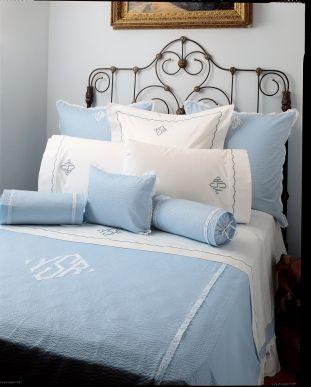 affordable monogram bedding