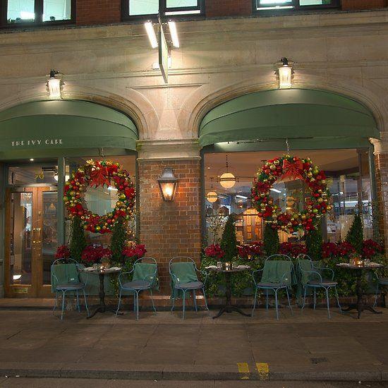The Ivy Cafe, Marylebone. Nov 2017.