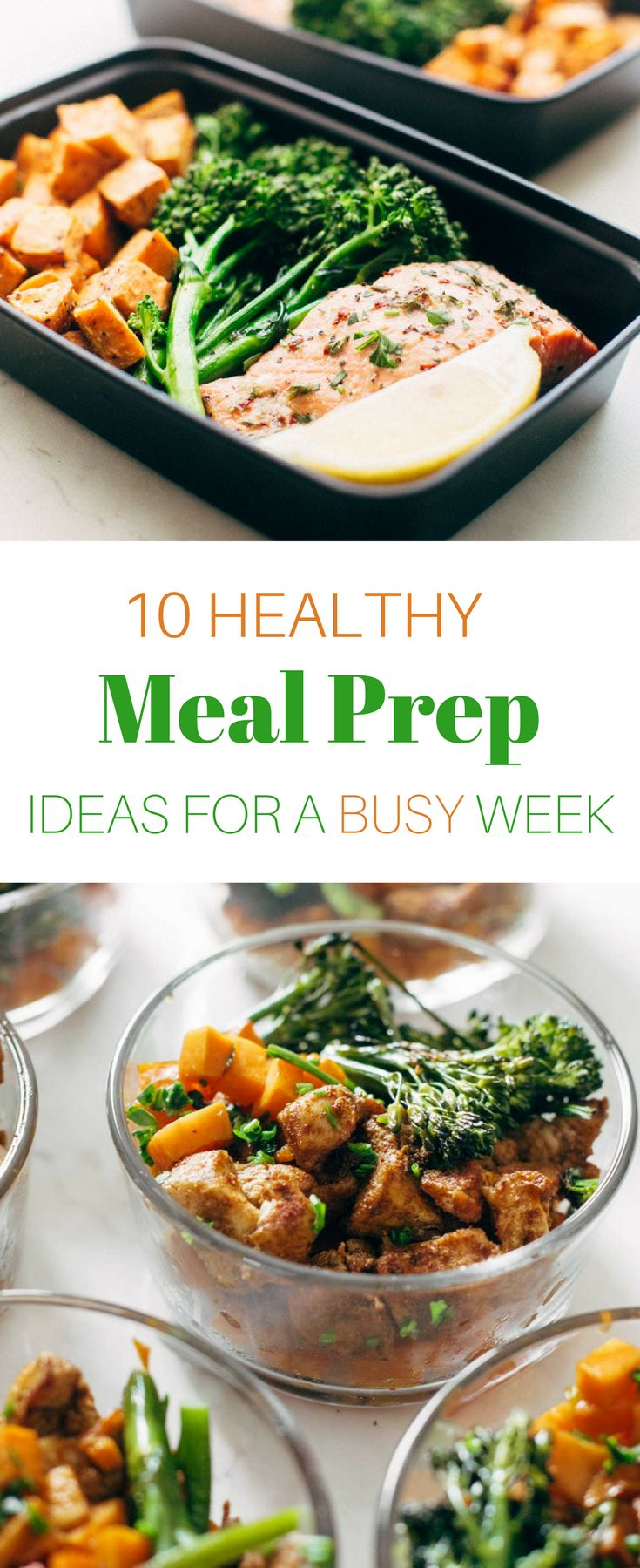 The easiest way to a healthy week? Plan ahead! These healthy meal prep ideas make weekday lunches a snap—and they're delicious, to boot. See more at spryliving.com #healthy_diet_ideas