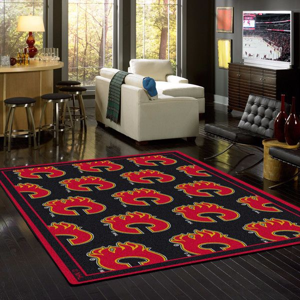 Show your team pride and spirit during the game with an officially licensed area rug made in the USA by Milliken. Features - Made with Stainmaster Nylon - Fade Resistant & Durable Edges - High Perform