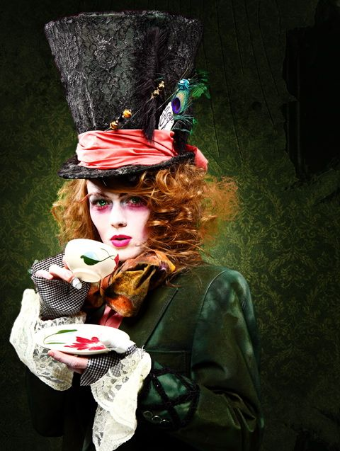 The best female Mad Hatter costume! Would love to just do this and walk around the streets