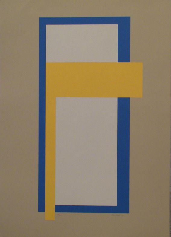 Juhana Blomstedt: Afrodite, 1988, serigrafia, 68x49 cm - Galleria Bronda