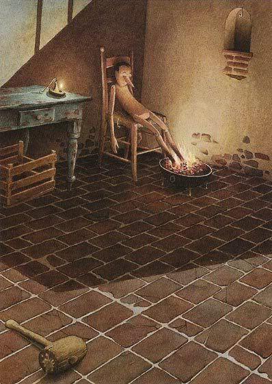Roberto Innocenti - The Adventures of Pinocchio: