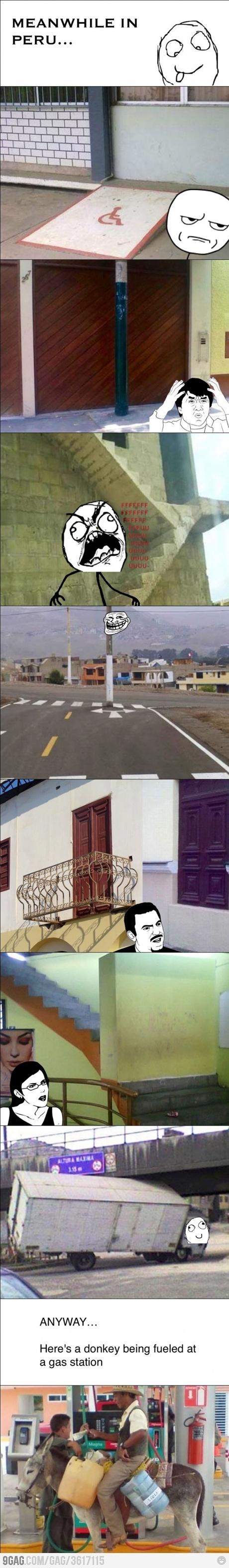Meanwhile in Peru…