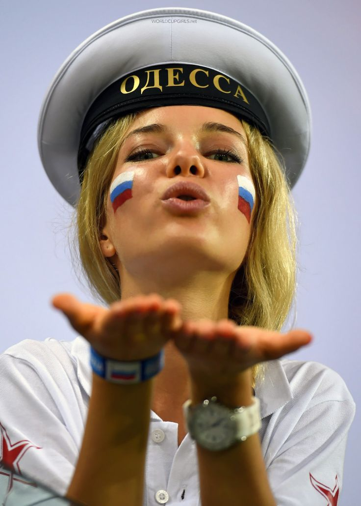 The Power of Russia! Meet out Russian girls at the World Cup 2014 in Brazil: http://worldcupgirls.net/russian-girls-at-world-cup-2014/