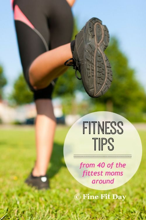 Fit Mama Friday: The best advice for getting your fitness on track. Workout and motivation from 40 amazing women featured on the Fit Mama Friday series.