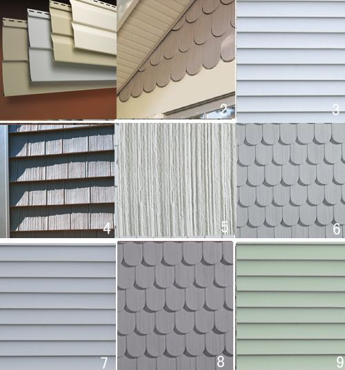 35 best house colors and metal roofs images on pinterest for Types of siding
