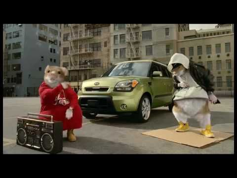 When ever I hear this song or see this car, I always think of this commercial with the rapping hamsters. I'm not sure if that's a good or bad thing.